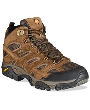 Merrell Men's Moab 2 Mid-Top Waterproof Hiker Men's Shoes