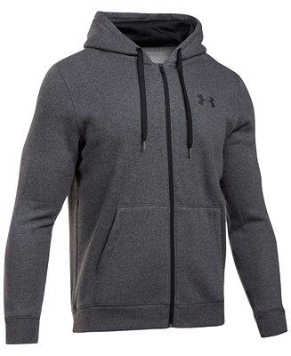 78a88ca5f Under Armour Men's Rival Zip Hoodie & Reviews - Hoodies & Sweatshirts - Men  - Macy's