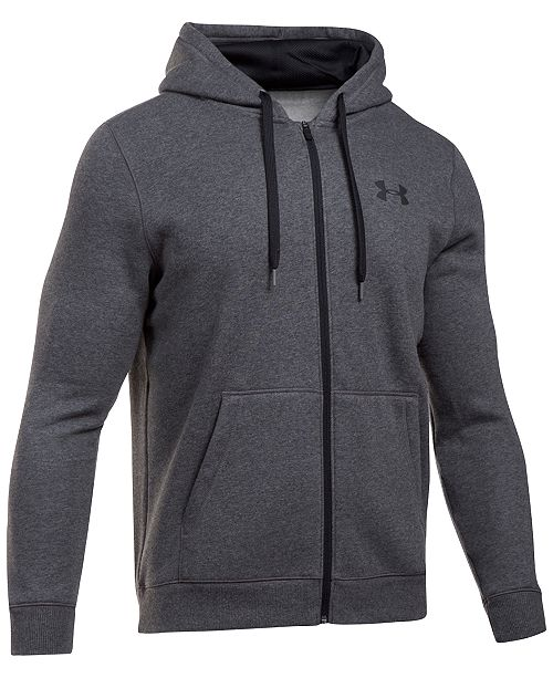 fa2810f6e5a4 Under Armour Men s Rival Zip Hoodie   Reviews - Hoodies ...