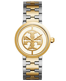 Tory Burch Women's Reva Two-Tone Stainless Steel Bracelet Watch  36mm