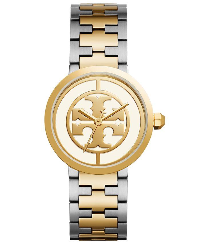 Tory Burch - Women's Reva Two-Tone Stainless Steel Bracelet Watch 36mm