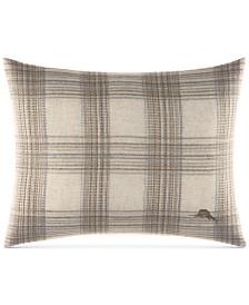 "CLOSEOUT! Tommy Bahama Home Raffia Palms 16"" x 20"" Decorative Pillow"