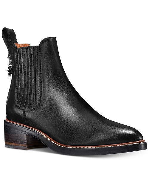 213c347634 COACH Bowery Chelsea Boots & Reviews - Boots - Shoes - Macy's
