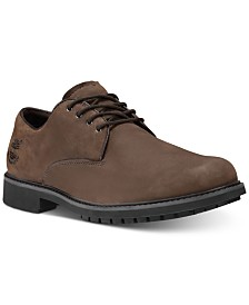 Timberland Men's Stormbuck Plain Toe Waterproof Derby