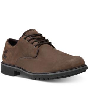 Timberland Men's Stormbuck Plain Toe Waterproof Derby Men's Shoes