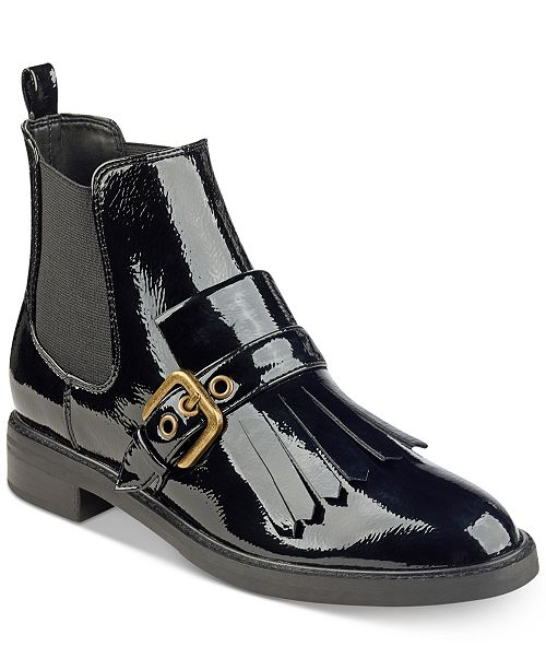 a8a4c40569f Marc Fisher Brigita Kiltie Buckle Booties   Reviews - Boots - Shoes ...