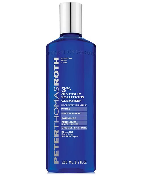 Peter Thomas Roth 3% Glycolic Solutions Cleanser, 8.5-oz.