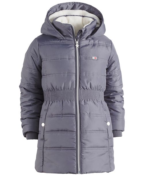 6148275130ed Tommy Hilfiger Hooded Quilted Puffer Coat