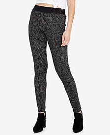 RACHEL Rachel Roy Jacquard Leggings, Created for Macy's