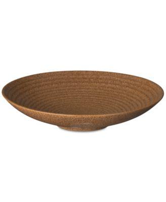 Studio Craft Chesnut Medium Ridged Bowl
