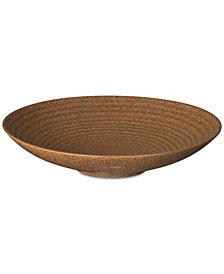 Denby Studio Craft Chesnut Medium Ridged Bowl