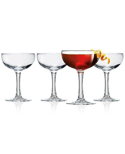Luminarc Coupe 4-Pc. Cocktail Glass Set