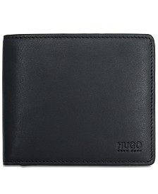 Hugo Boss Men's Leather Coin Wallet