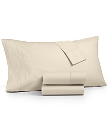 4-Pc. Full Sheet Set, 400 Thread Count 100% Cotton Percale, Created for Macy's