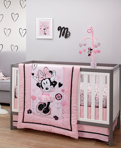 Baby Bedroom Set. Disney Minnie Mouse Hello Gorgeous Baby Bedroom Collection