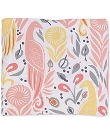 DwellStudio Boheme  100% Cotton Percale Printed Fitted Crib Sheet