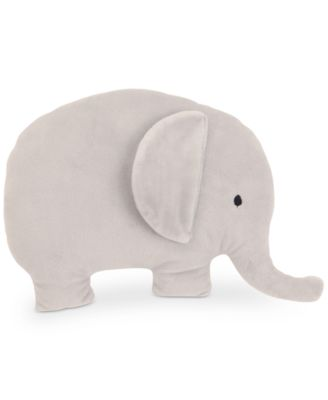 The Dreamer Collection Plush Elephant Decorative Pillow