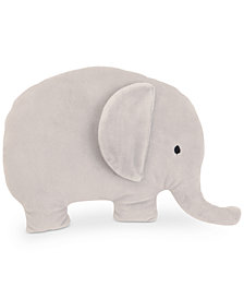 NoJo The Dreamer Collection Plush Elephant Decorative Pillow