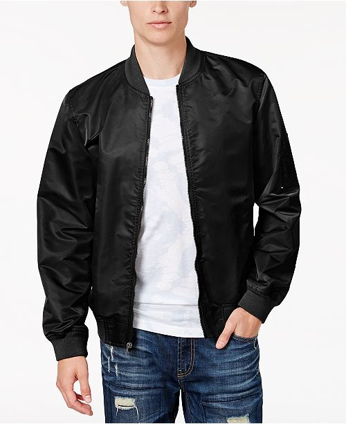10f6a0e6b American Rag Men's Nylon Bomber Jacket, Created for Macy's ...
