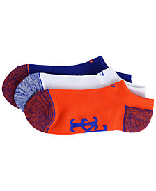 '47 Brand New York Mets 3pack Blade Motion No Show Socks