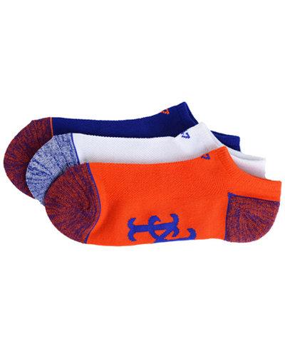 '47 Brand New York Mets 3pack Blade Motion No Show Socks