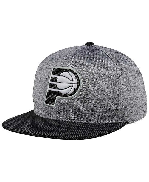 0b23dc5ec8656 ... Snapback Cap  Mitchell   Ness Indiana Pacers Space Knit Snapback ...