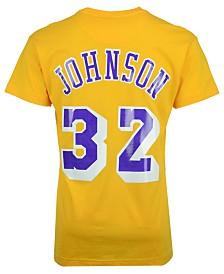 Mitchell & Ness Men's Magic Johnson Los Angeles Lakers Hardwood Classic Player T-Shirt