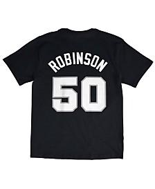 Mitchell & Ness Men's David Robinson San Antonio Spurs Hardwood Classic Player T-Shirt