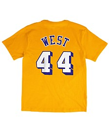 Mitchell & Ness Men's Jerry West Los Angeles Lakers Hardwood Classic Player T-Shirt