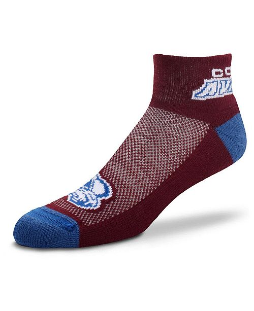 For Bare Feet Colorado Avalanche The Cuff Ankle Socks