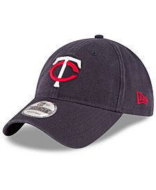 New Era Minnesota Twins On Field Replica 9TWENTY Fitted Cap