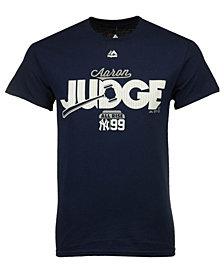 Majestic Men's Aaron Judge New York Yankees Judge Gavel T-Shirt