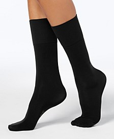 Wellness Women's Moderate Compression Over-The-Calf Socks
