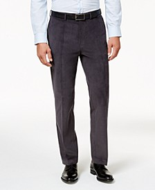 Men's Classic-Fit Stretch Corduroy Dress Pants