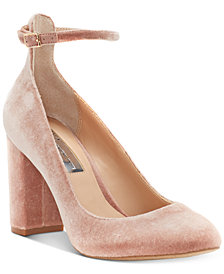 I.N.C. Women's Gallan Ankle-Strap Pumps, Created for Macy's