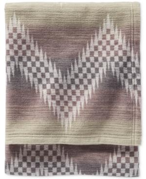 Pendleton Willow Basket Cotton Jacquard King Blanket Bedding