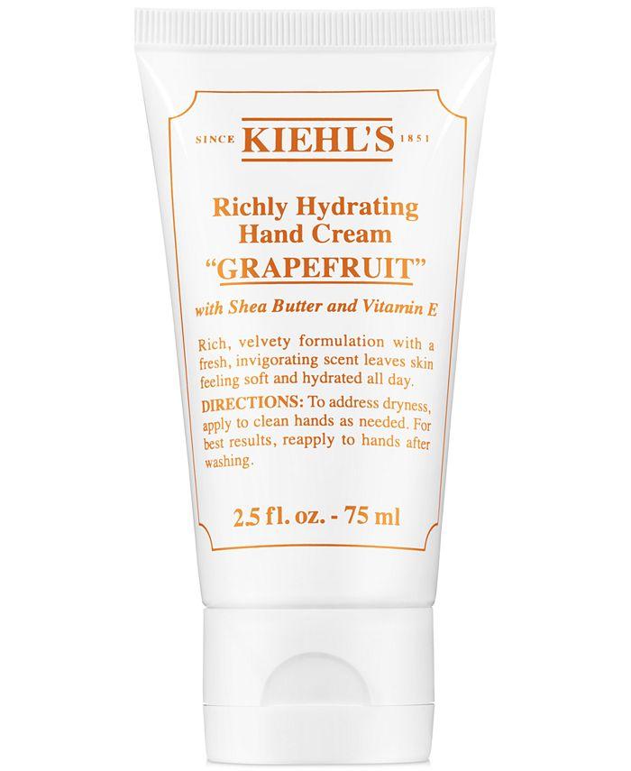 Kiehl's Since 1851 - Richly Hydrating Hand Cream - Grapefruit, 2.5-oz.