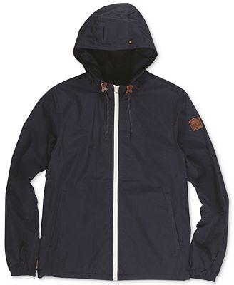 Element Men's Alder Lightweight Windbreaker - Coats & Jackets ...