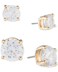 Ivanka Trump 2-Pc. Set Crystal Stud Earrings