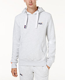 Superdry Men's Orange Label Pullover Hoodie