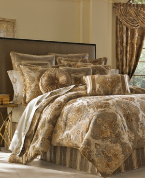 J Queen New York Bradshaw 4-Pc. Queen Comforter Set Bedding