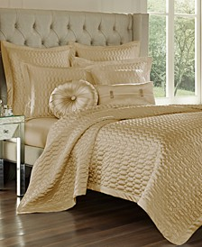 Satinique Quilted King Coverlet