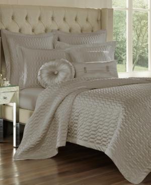 J Queen New York Satinique Quilted FullQueen Coverlet Bedding