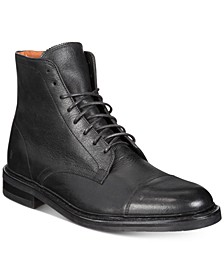 Men's Seth Cap-Toe Lace-Up Boots Created for Macy's