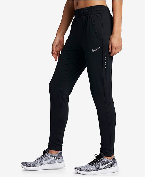 Nike Dry Element Running Pants - Pants   Capris - Women - Macy s c222d2c731