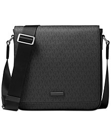 Michael Kors Men's Logo-Print Messenger Bag