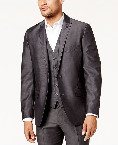 INC International Concepts I.N.C. Men's Slim Fit Royce Suit Jacket, Created for Macy's