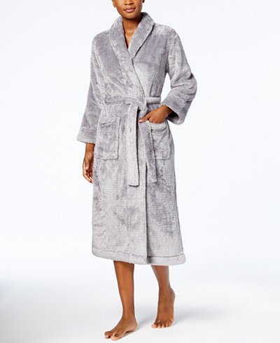 Charter Club Petite Long Shimmer Robe, Created for Macy's