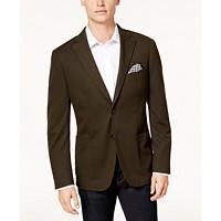Bar III Men's Slim-Fit Knit Sport Coat (Olive Green)