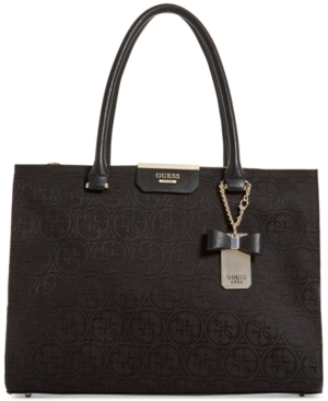 Guess  RYANN SOCIETY LARGE SATCHEL